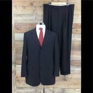 Brooks Brothers Brooksease Pants Suit Sz 42L / 36R